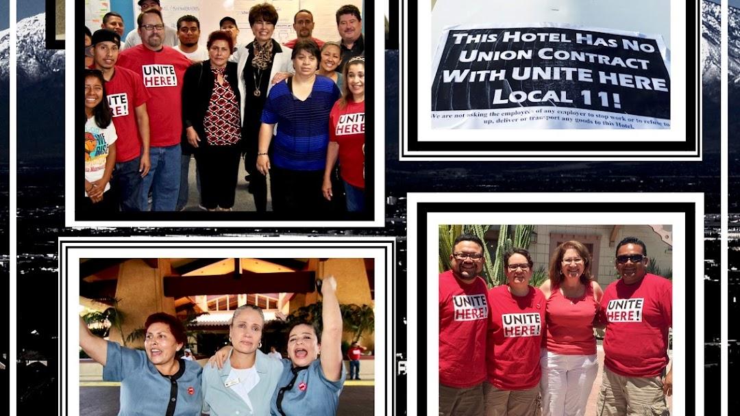 UNITE HERE! Local 11 Inland Empire Office - Labor Union in