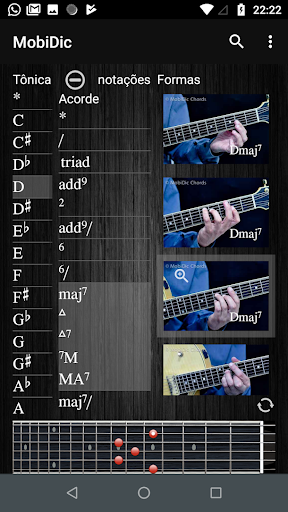 MobiDic Guitar Chords 2.6 screenshots 2