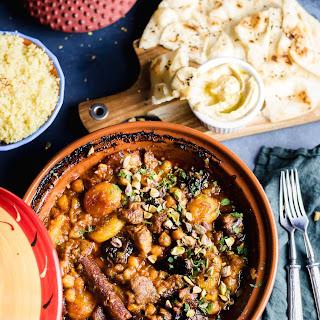 Moroccan Lamb Tagine.