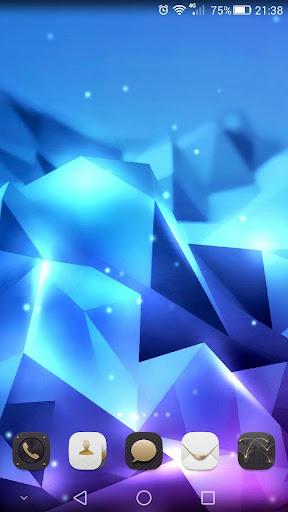 水晶动态壁纸 - 3D免费版