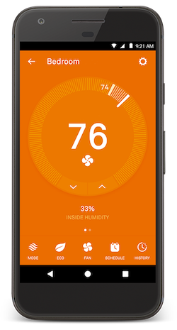 thermostat heating app