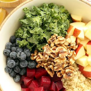 Quinoa Salad with Beets and Kale Recipe