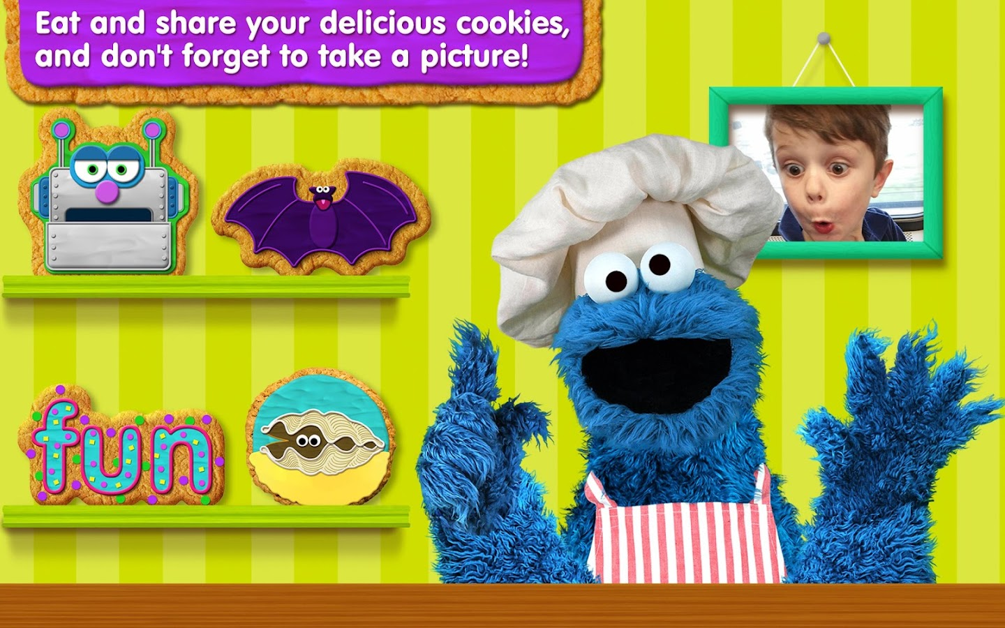 Sesame Street Alphabet Kitchen Apl Android Di Google Play