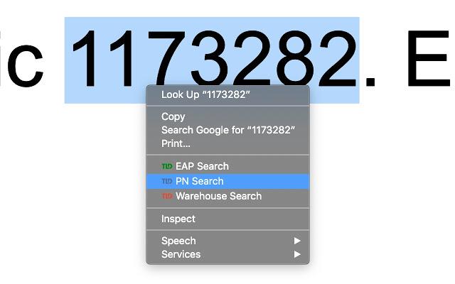 TLD PN Search - WIM