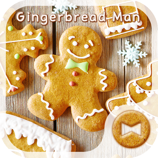 Gingerbread Man Wallpaper-free Icon