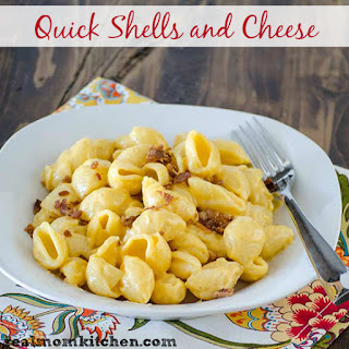Quick Shells and Cheese