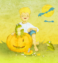 Photo: Pumpkin carving.