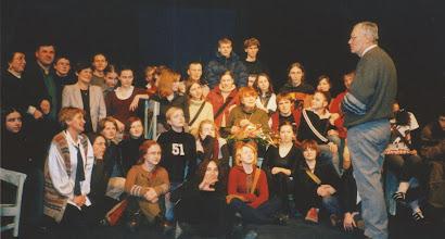 Photo: Kraków, 03.2004 r. w Państwowej Wyższej Szkole Teatralnej