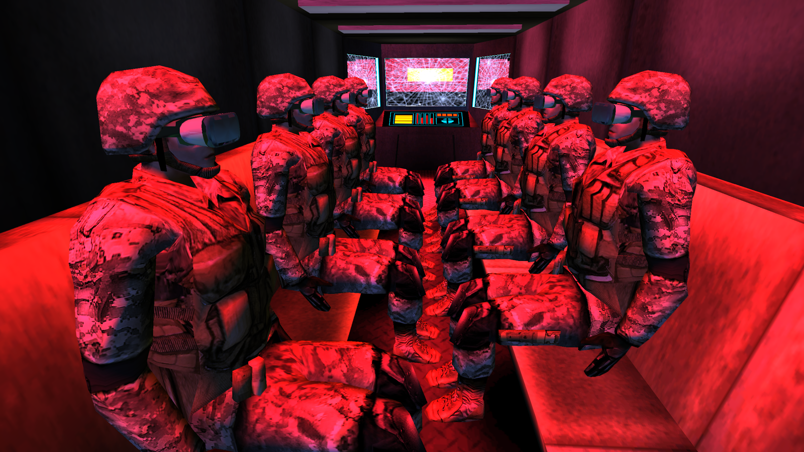 Space Marine Boot Camp VR- screenshot