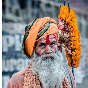 The Saint from India by Arup Acharjee - News & Events World Events ( hindu, india, varanasi, sadhu, saint )