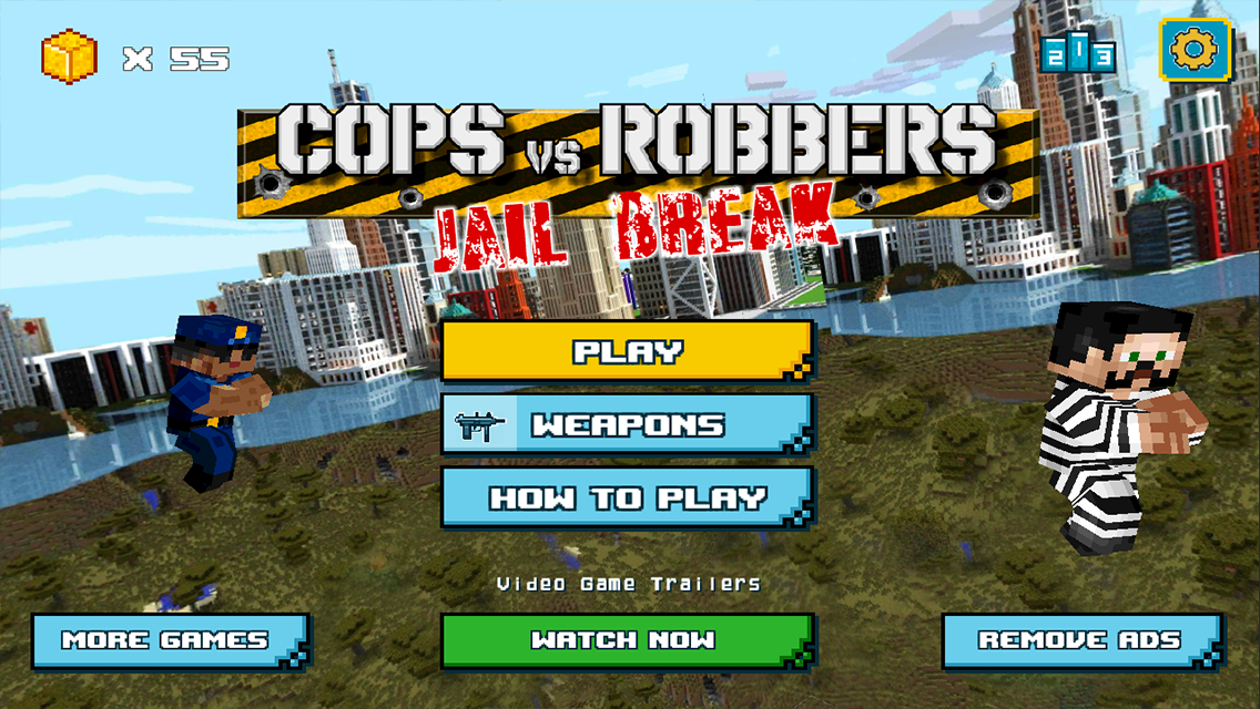 how to play cops and robbers inside