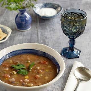 Vegan Instant Pot Teff Vegetable Soup.