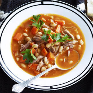 Veal Shank and Vegetable Soup.