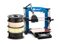 Pulse DXE - Dual Extrusion 3D Printer Bundle