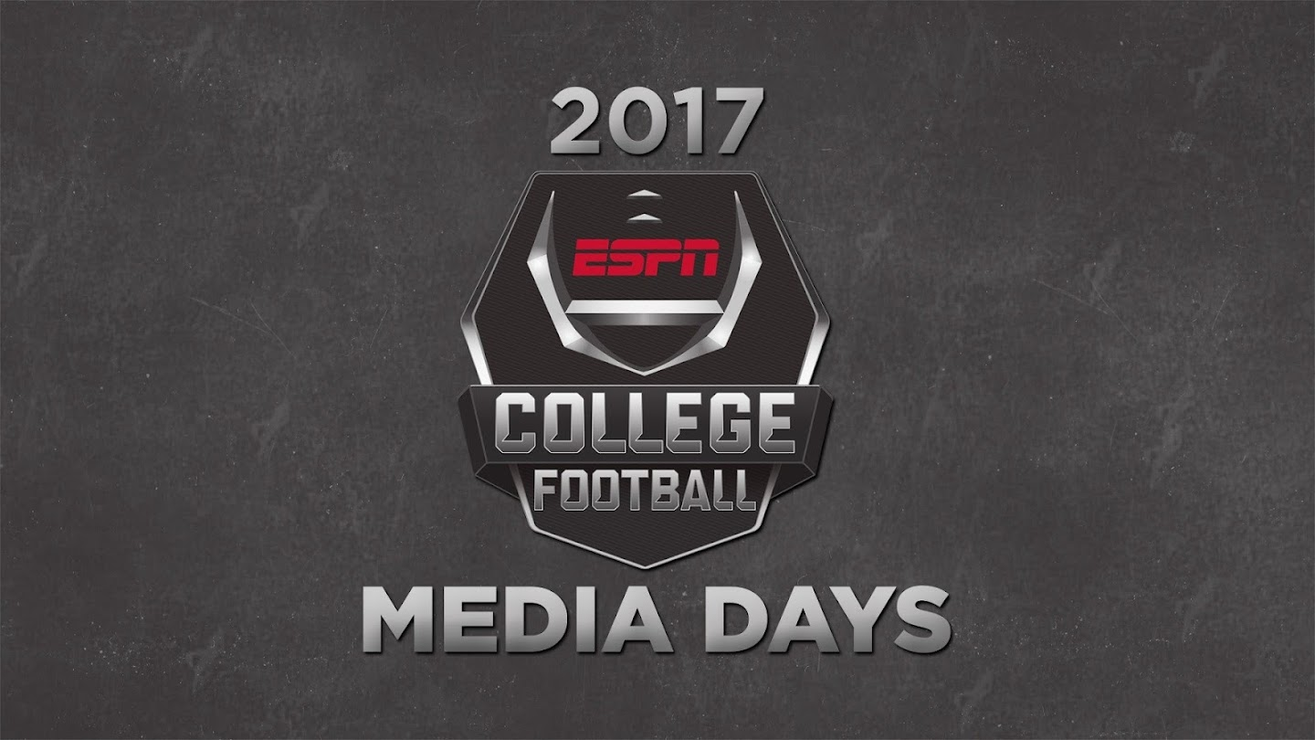 Watch 2017 College Football Media Days live