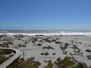 Photo: Y justo al lado, una playa del Mar de Tasmania