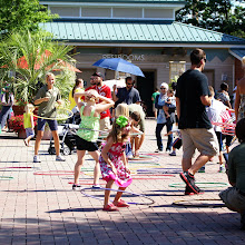 Photo: Playful hula hooping