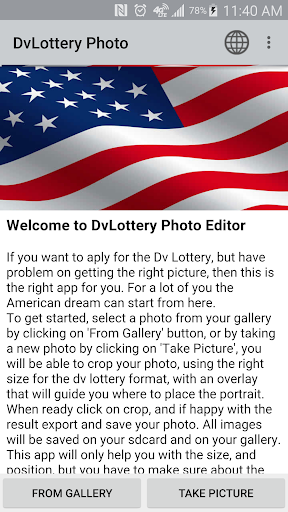 DvLottery Photo Editor