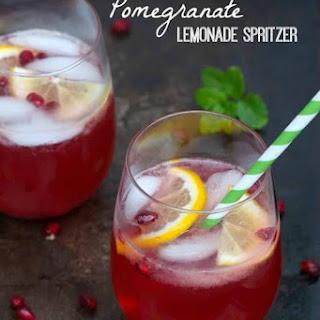 Pomegranate Lemonade Spritzer Recipe