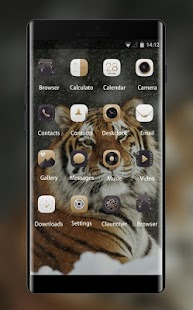 Theme for Xolo Q900 Tiger Wallpaper - náhled