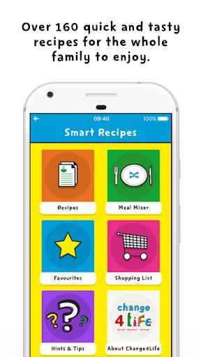 Change4Life Smart Recipes screenshot 1