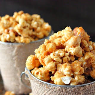 Butter Toffee Popcorn.