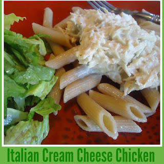Cream Cheese Chicken Italian Dressing Recipes