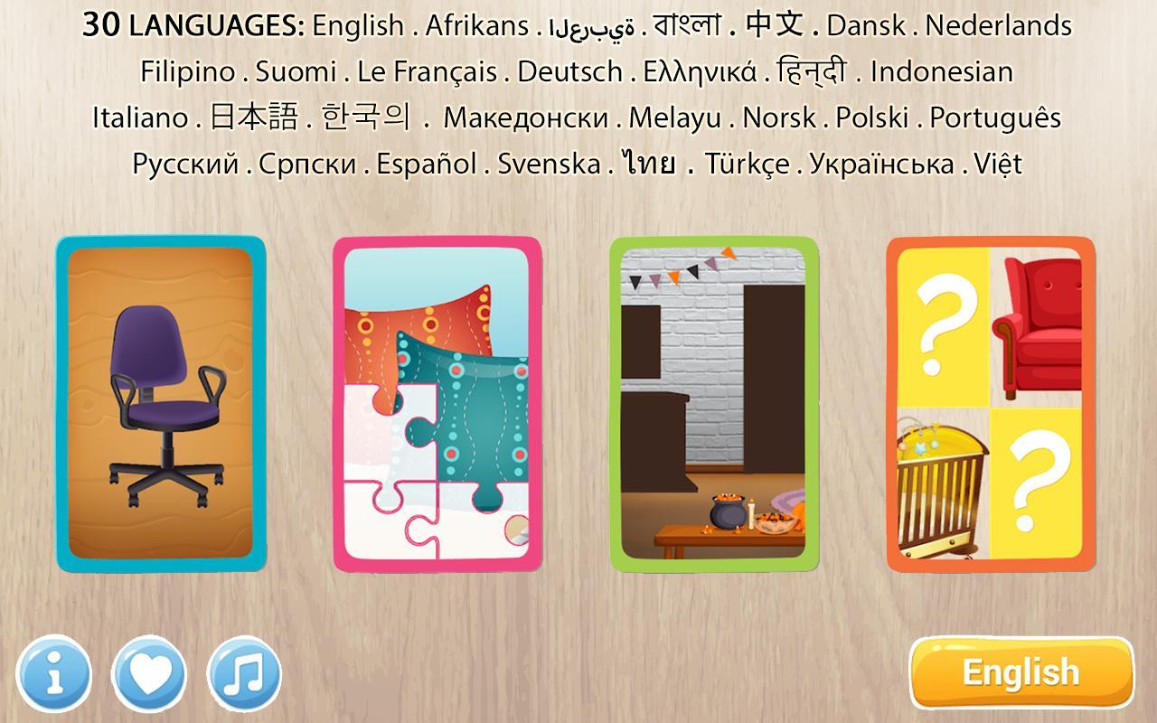 Muebles Puzzle Para Ni Os Aplicaciones De Android En Google Play # Muebles Deutsch