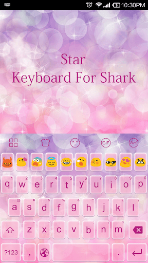 Star Pink Dream-Emoji Keyboard