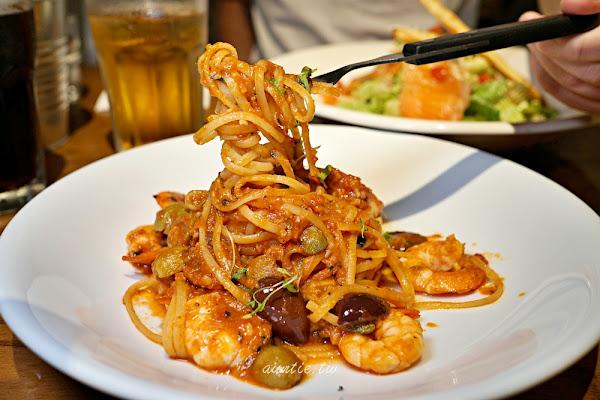 chiba 吃吧餐廳 台北西門意舍 美式義式料理 輕辣櫻桃BBQ豬肋排推薦