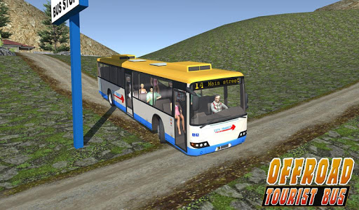 Uphill offroad bus driving sim 1.0.8 screenshots 23