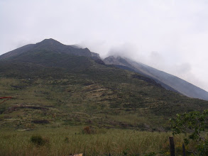 Photo: Le volcan
