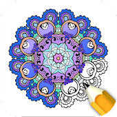 Adult Coloring Book: Stress Relief, Coloring Games