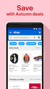 App Fashion & Tech Deals - Shop, Sell & Save with eBay APK for Windows Phone