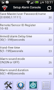 Fronti Alarm Setting app- screenshot thumbnail