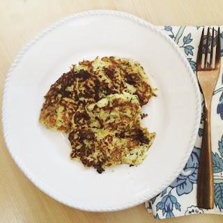 Zucchini Cheddar Low Carb Latkes