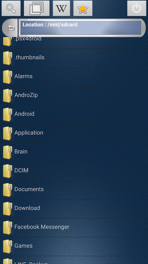 Speaker for Android FREE: captura de pantalla