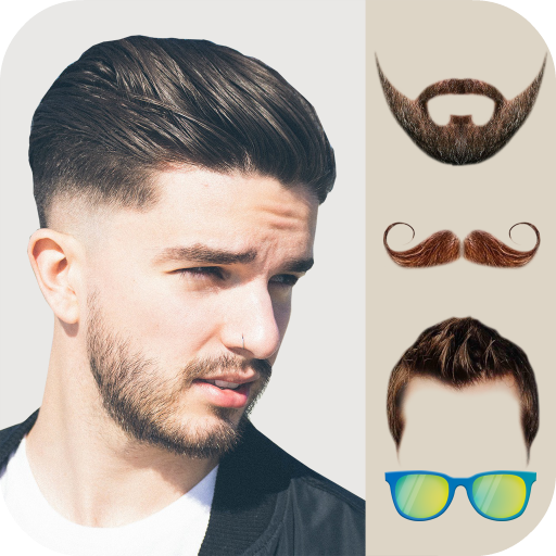 Beard and Mustache Photo Editor Icon