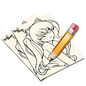 Como desenhar Manga icon