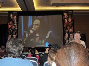 Photo: Gwyneth Walsh, who played Klingon royal B'etor in Star Trek Generations
