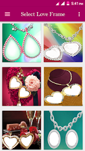Love Locket Photo Frame screenshot 0