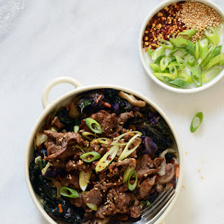 Korean Barbeque Beef (Bulgogi).