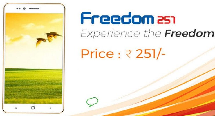 Freedom251 free booking - screenshot