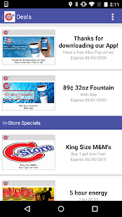 C-Stores App- screenshot thumbnail