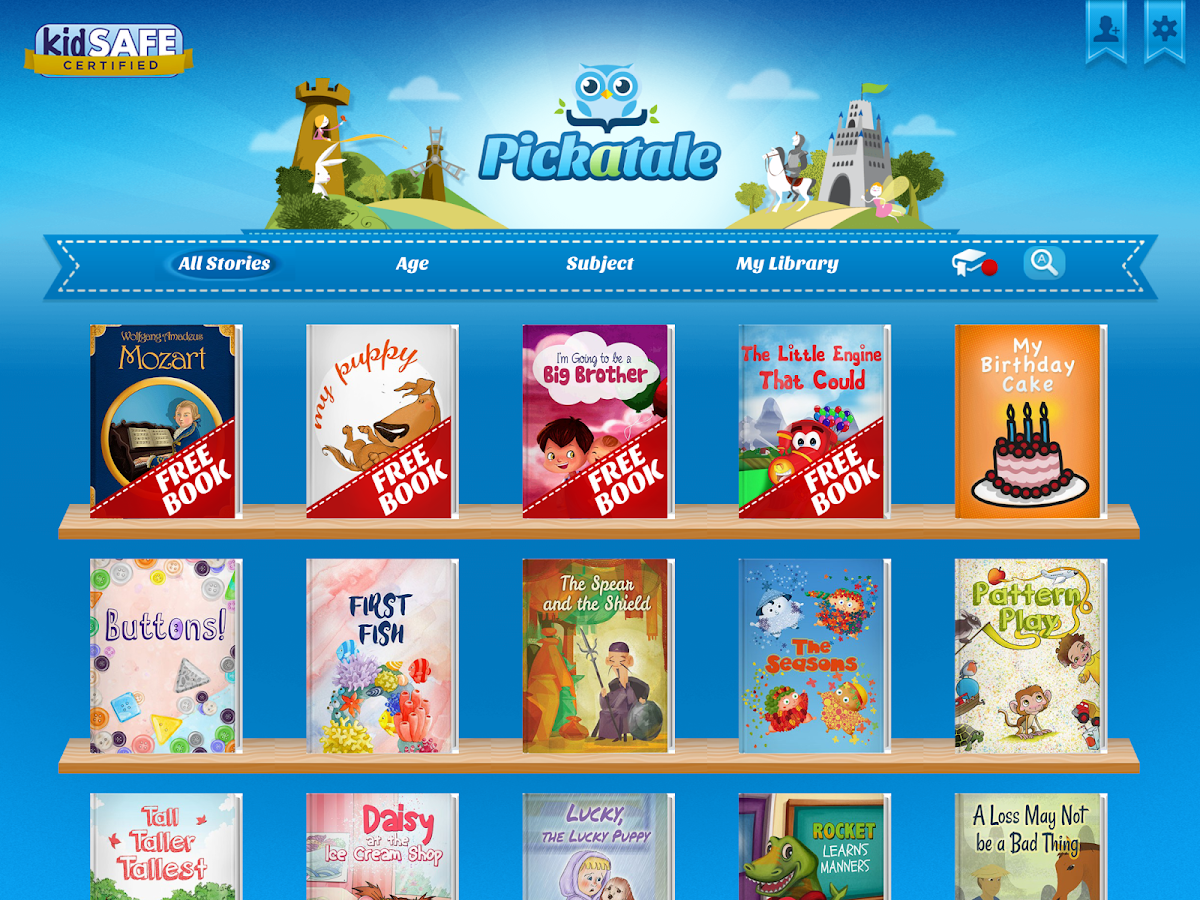 Pickatale: StoryBooks for Kids- screenshot