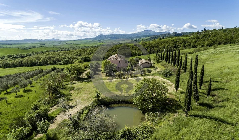 Corps de ferme avec jardin San Quirico d'Orcia