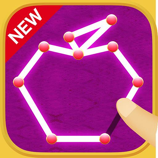 一筆書きゲーム!無料パズルで脳トレしよう!いっぴつがきです! 解謎 App LOGO-硬是要APP