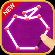 Stroke to write game! Let brain training free puzzle! Is Ippitsugaki!