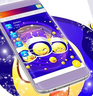 Galaxy SMS Téma - náhled
