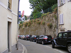 Photo: As usual, you don't have to look hard to find evidence of the town's medieval fortifications.